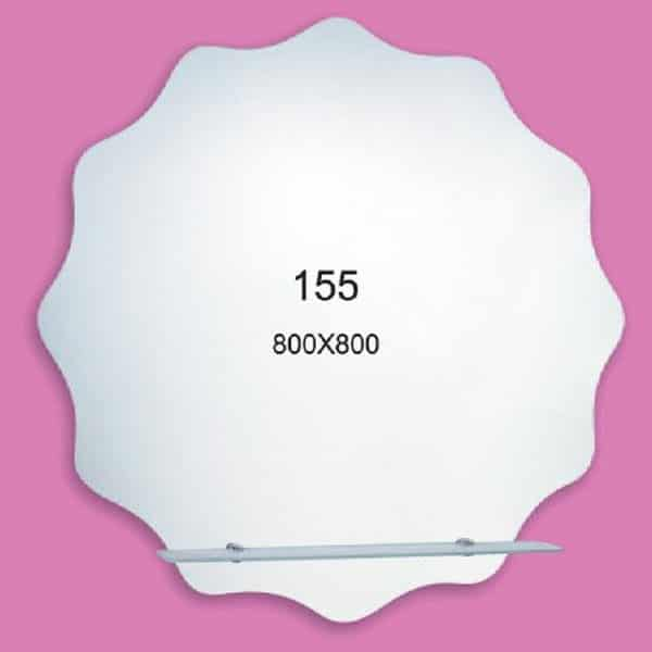 Зеркало для ванной комнаты F155 (800х800мм)