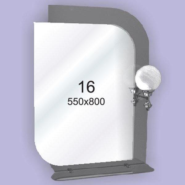 Зеркало для ванной комнаты F16 (550х800мм)