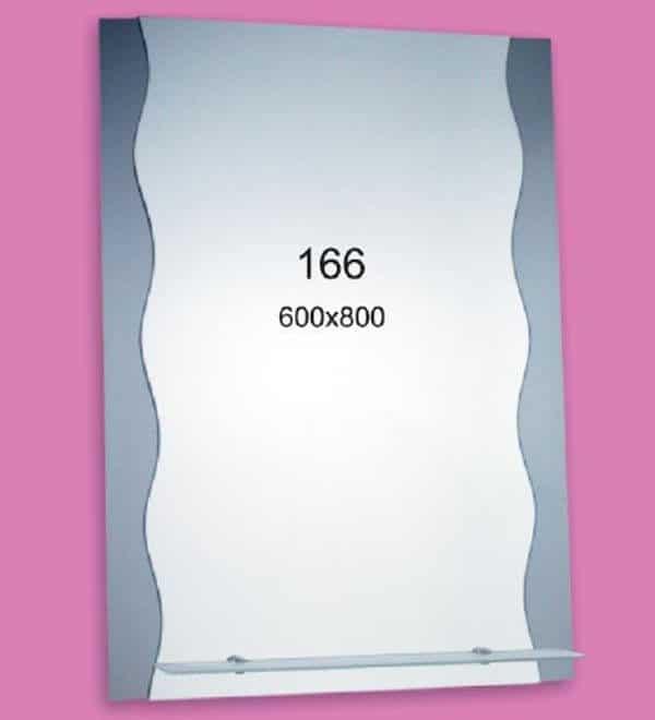Зеркало для ванной комнаты F166 (600х800мм)