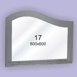 Зеркало для ванной комнаты F17 (800х600мм)