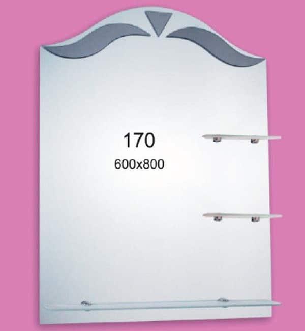 Зеркало для ванной комнаты F170 (600х800мм)