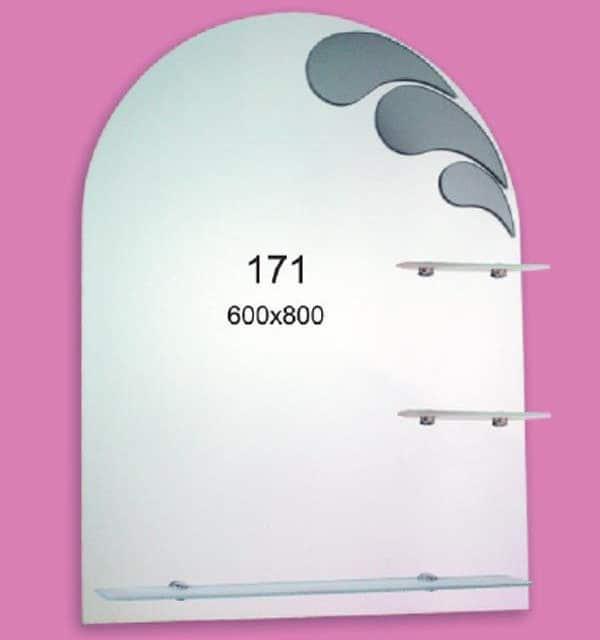 Зеркало для ванной комнаты F171 (600х800мм)