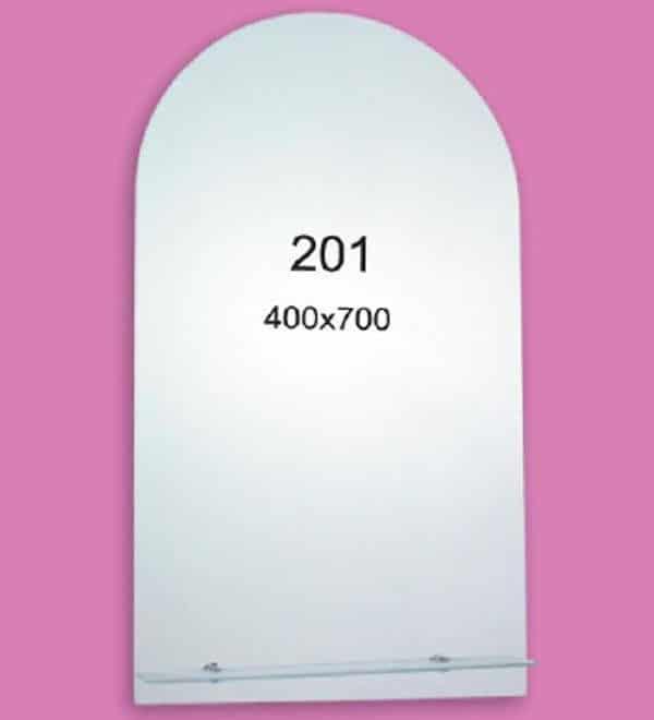 Зеркало для ванной комнаты F201 (400х700мм)