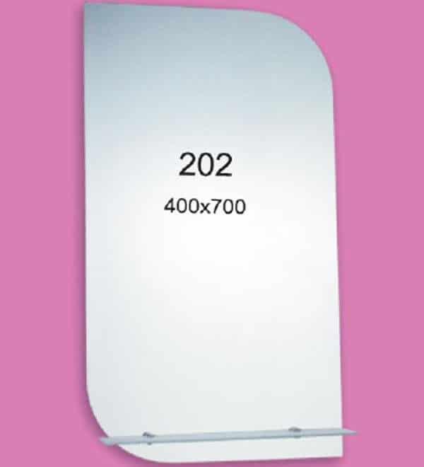 Зеркало для ванной комнаты F202 (400х700мм)