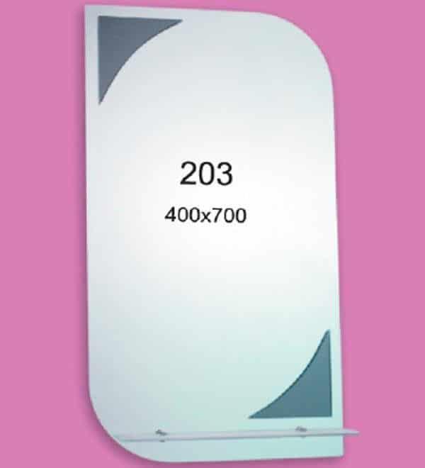 Зеркало для ванной комнаты F203 (400х700мм)