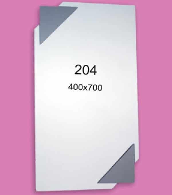 Зеркало для ванной комнаты F204 (400х700мм)