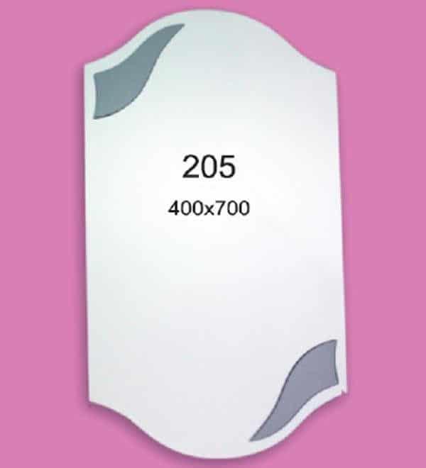 Зеркало для ванной комнаты F205 (400х700мм)