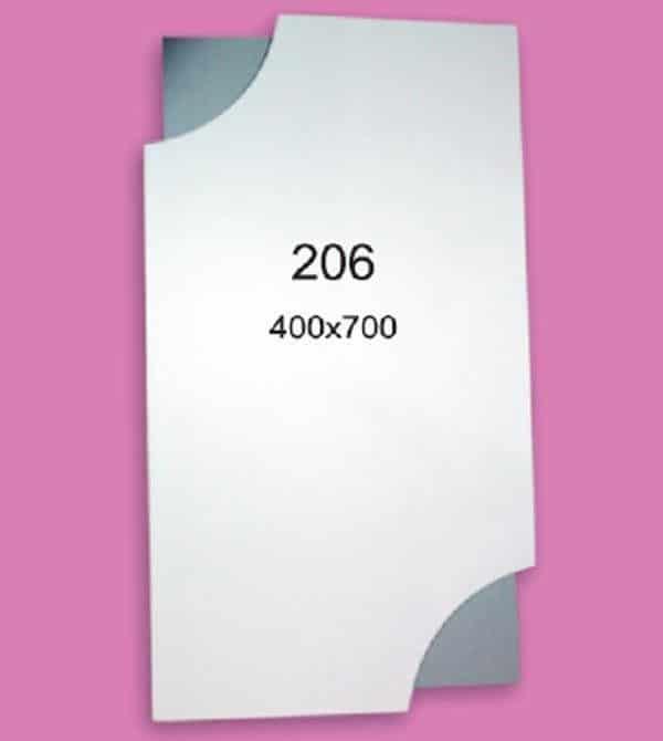 Зеркало для ванной комнаты F206 (400х700мм)
