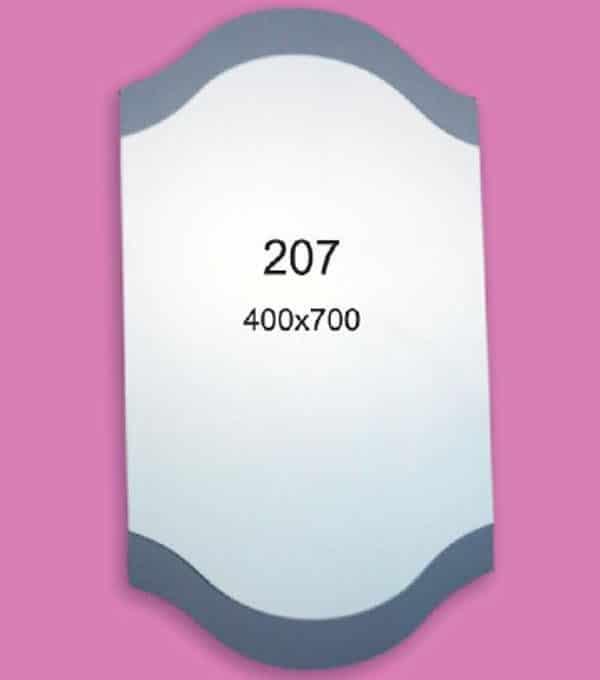 Зеркало для ванной комнаты F207 (400х700мм)