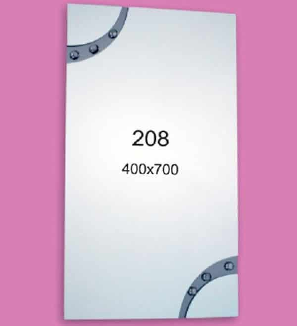 Зеркало для ванной комнаты F208 (400х700мм)