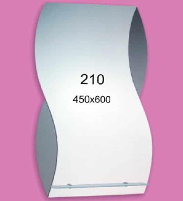 Зеркало для ванной комнаты F210 (450х600мм)