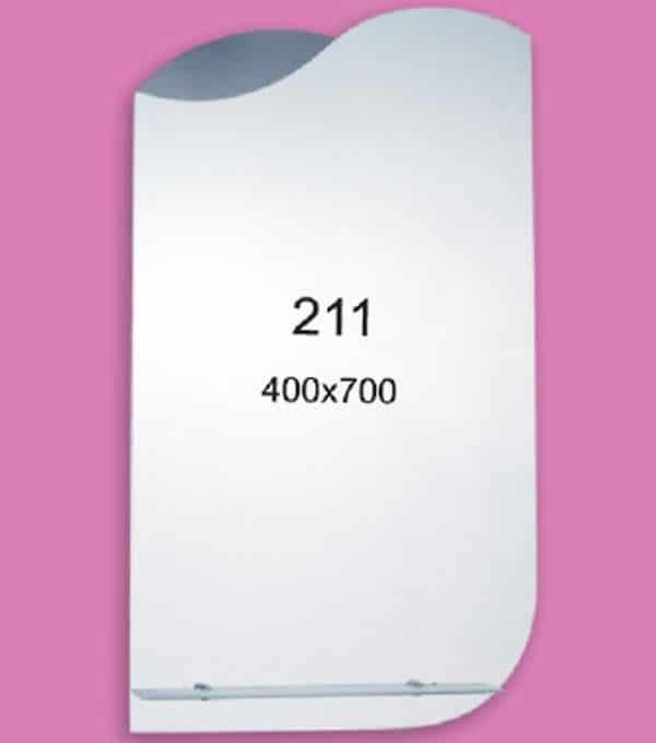 Зеркало для ванной комнаты F211 (400х700мм)
