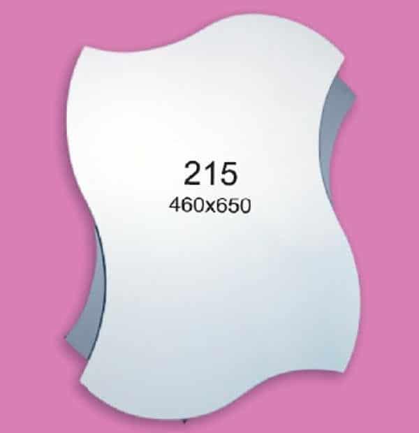 Зеркало для ванной комнаты F215 (460х650мм)