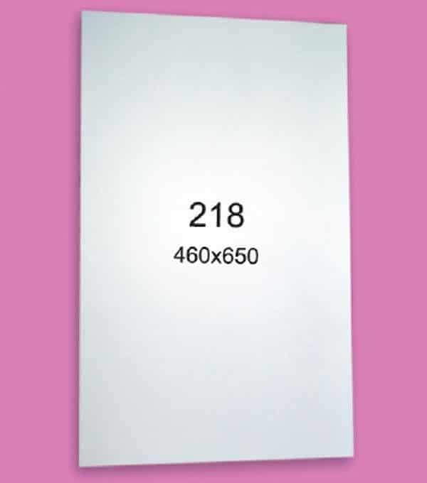 Зеркало для ванной комнаты F218 (460х650мм)