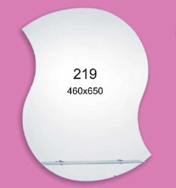 Зеркало для ванной комнаты F219 (460х650мм)