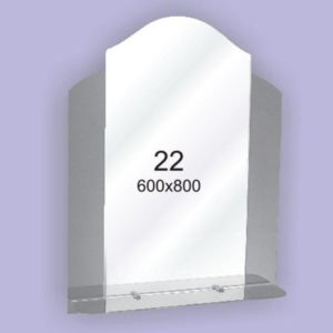 Зеркало для ванной комнаты F22 (600х800мм)