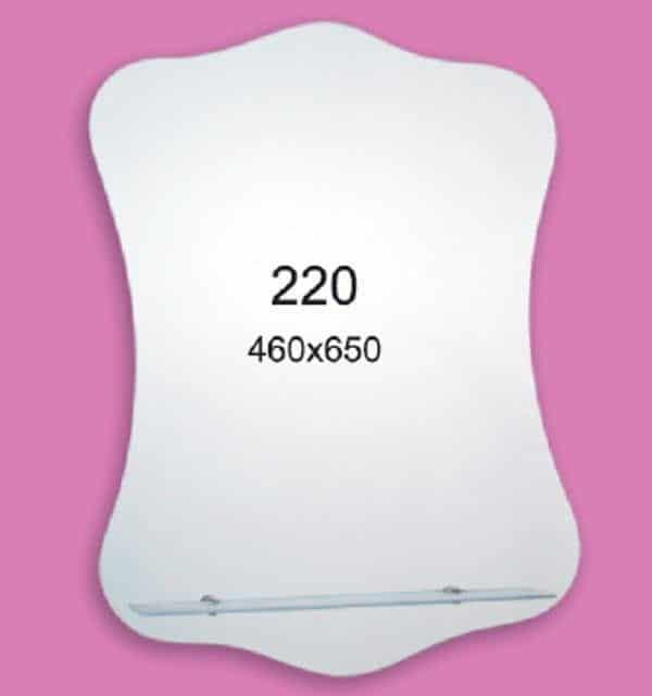 Зеркало для ванной комнаты F220 (460х650мм)