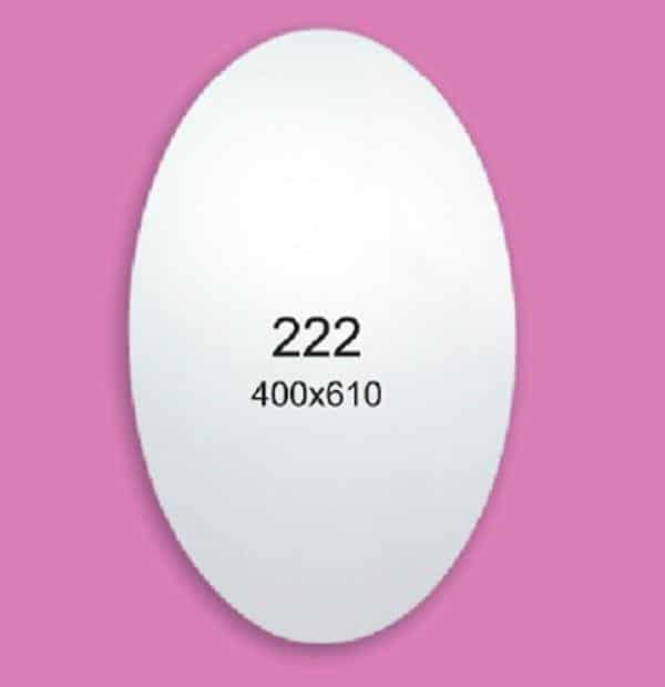 Зеркало для ванной комнаты F222 (400х610мм)