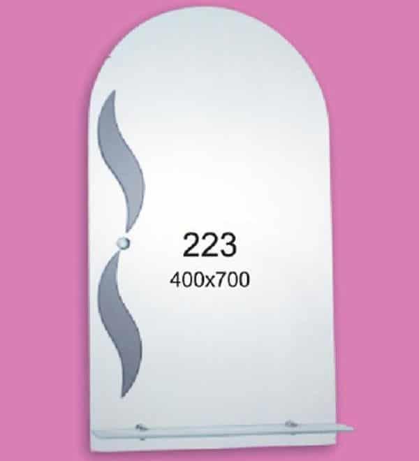 Зеркало для ванной комнаты F223 (400х700мм)