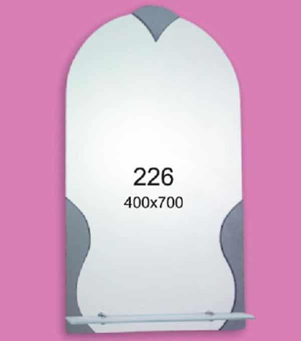 Зеркало для ванной комнаты F226 (400х700мм)
