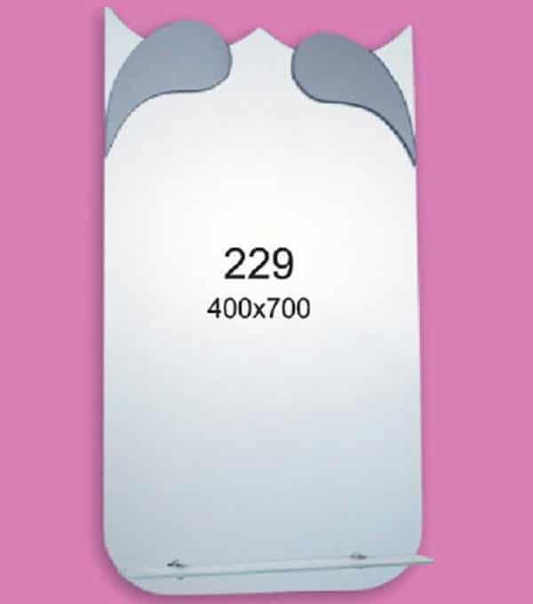 Зеркало для ванной комнаты F229 (400х700мм)