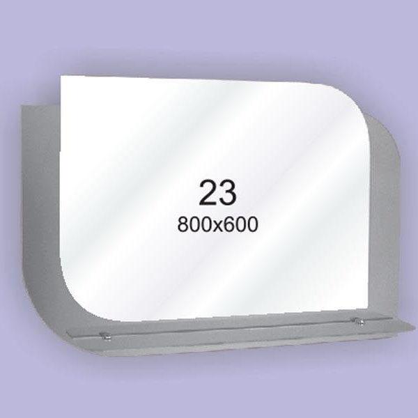 Зеркало для ванной комнаты F23 (800х600мм)