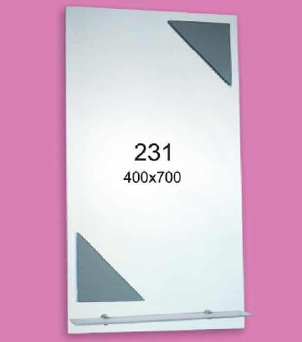 Зеркало для ванной комнаты F231 (400х700мм)