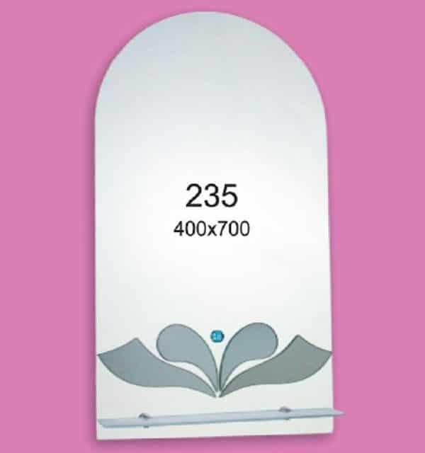 Зеркало для ванной комнаты F235 (400х700мм)