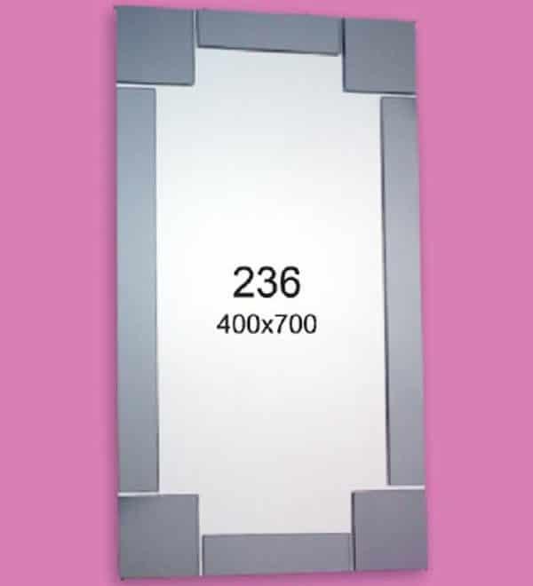 Зеркало для ванной комнаты F236 (400х700мм)