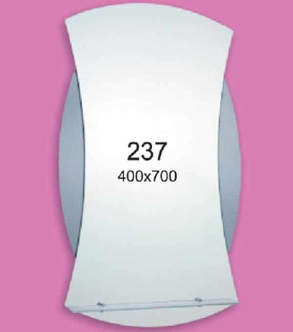 Зеркало для ванной комнаты F237 (400х700мм)