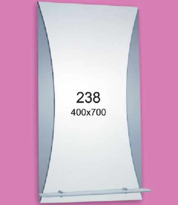 Зеркало для ванной комнаты F238 (400х700мм)