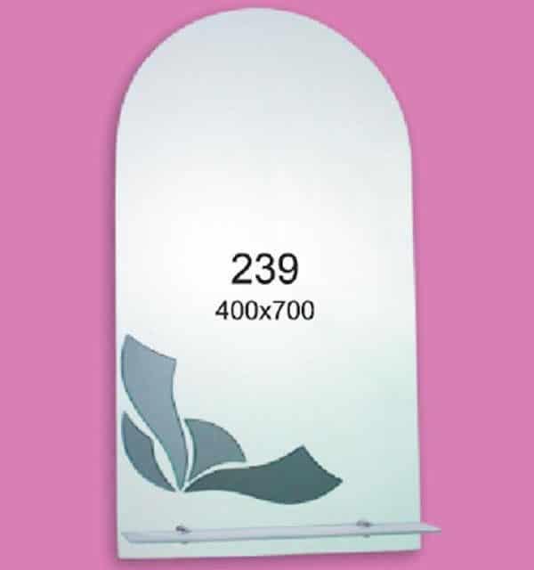 Зеркало для ванной комнаты F239 (400х700мм)