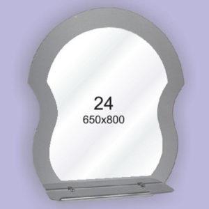Зеркало для ванной комнаты F24 (650х800мм)