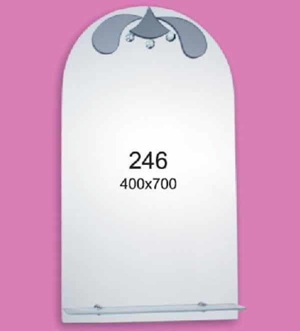 Зеркало для ванной комнаты F246 (400х700мм)