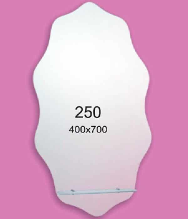 Зеркало для ванной комнаты F250 (400х700мм)