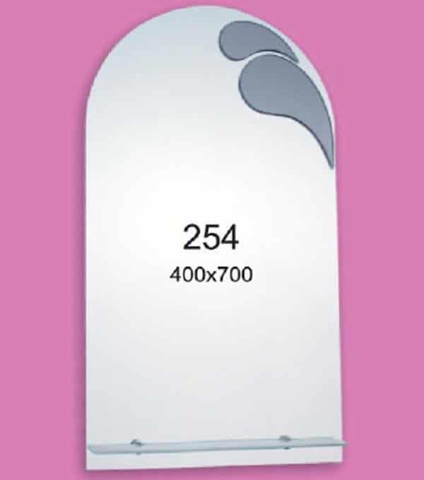 Зеркало для ванной комнаты F254 (400х700мм)