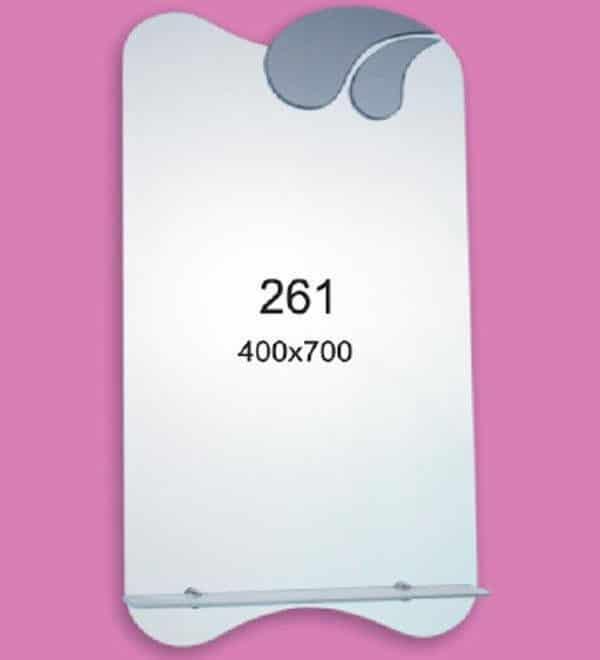 Зеркало для ванной комнаты F261 (400х700мм)