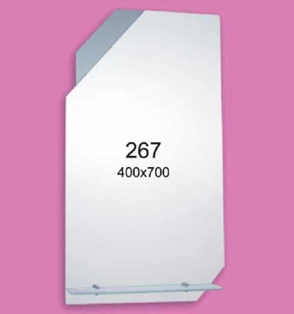Зеркало для ванной комнаты F267 (400х700мм)