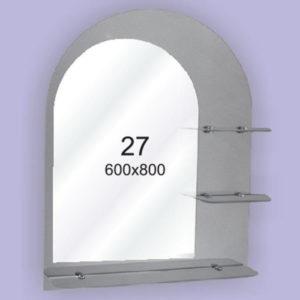 Зеркало для ванной комнаты F27 (600х800мм)