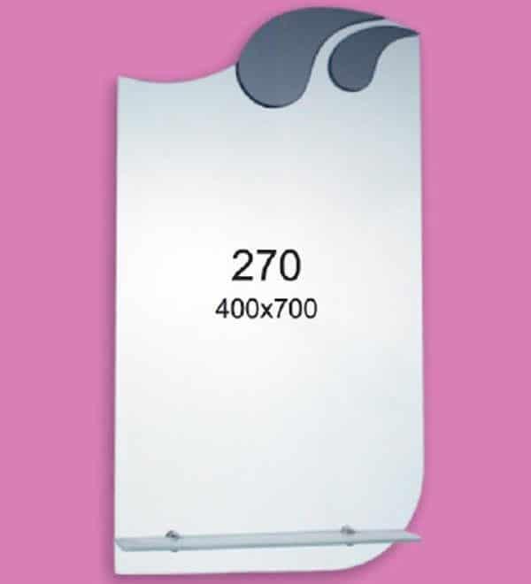 Зеркало для ванной комнаты F270 (400х700мм)