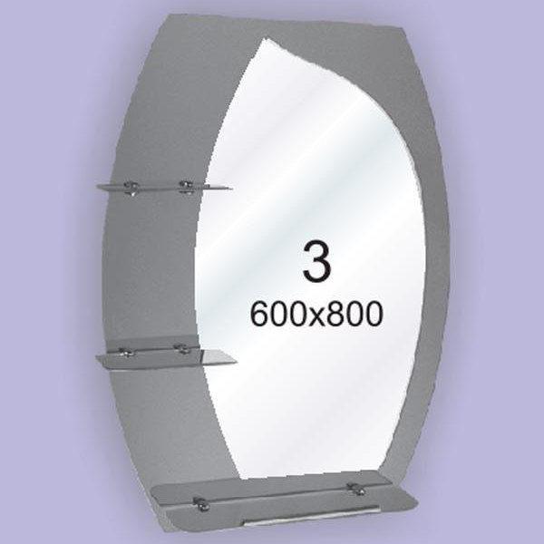 Зеркало для ванной комнаты F3 (600х800мм)