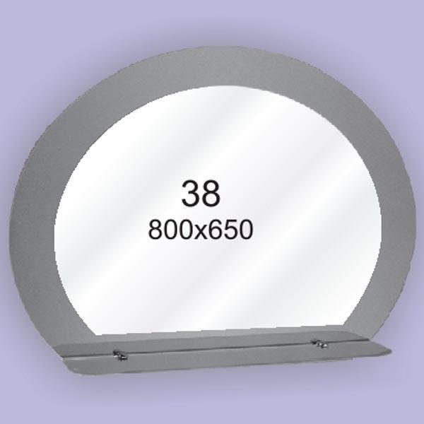 Зеркало для ванной комнаты F38 (800х650мм)