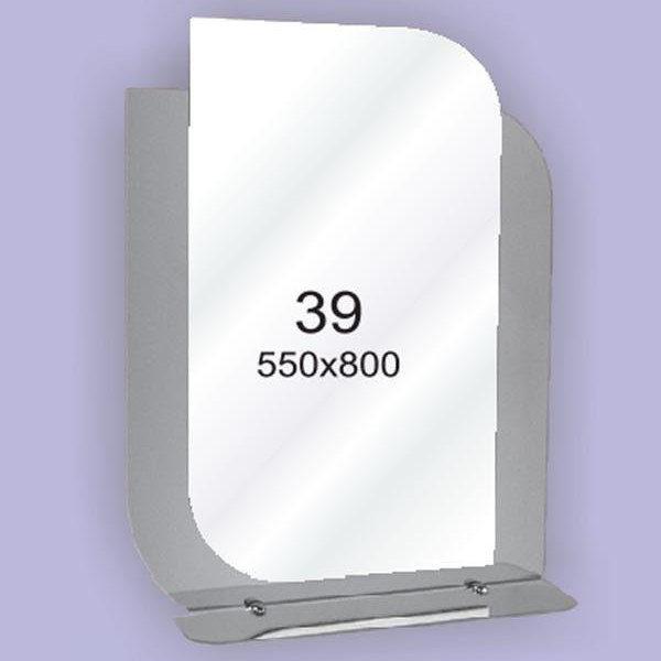 Зеркало для ванной комнаты F39 (550х800мм)