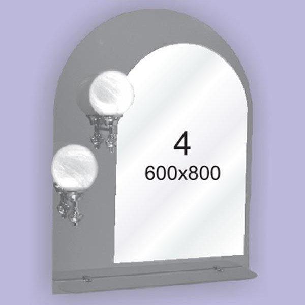 Зеркало для ванной комнаты F4 (600х800мм)