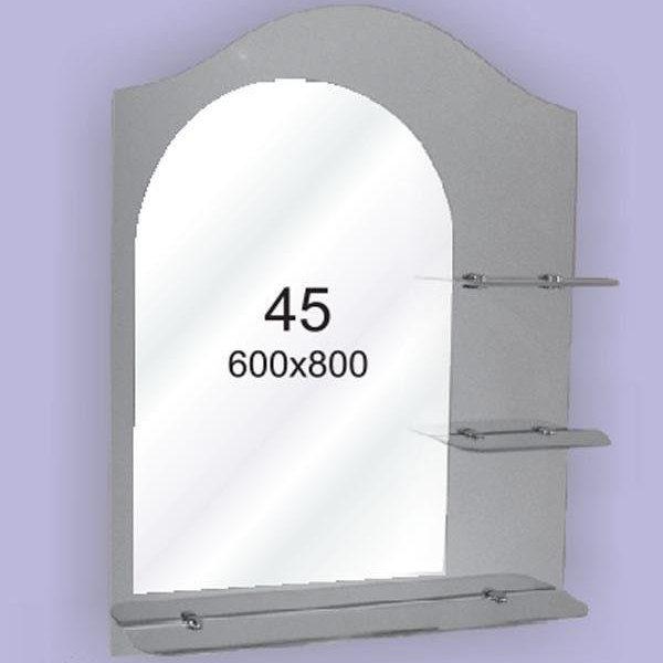 Зеркало для ванной комнаты F45 (600х800мм)