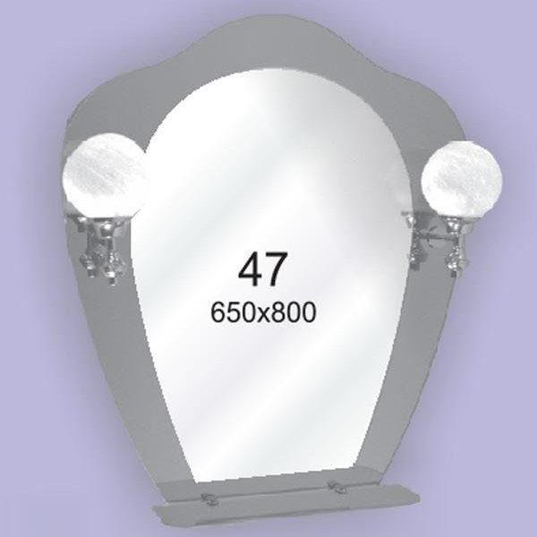 Зеркало для ванной комнаты F47 (650х800мм)