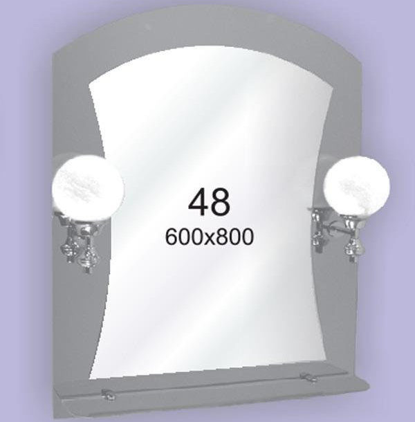 Зеркало для ванной комнаты F48 (600х800мм)