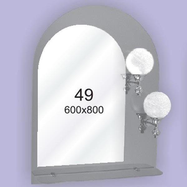 Зеркало для ванной комнаты F49 (600х800мм)