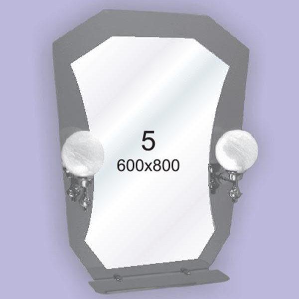 Зеркало для ванной комнаты F5 (600х800мм)
