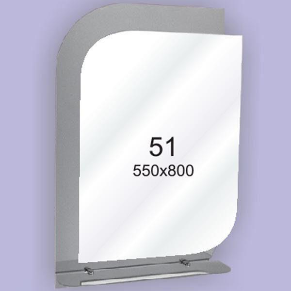 Зеркало для ванной комнаты F51 (550х800мм)